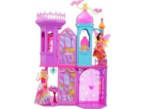 Barbie Kouzelná dvířka Velký princeznin zámek