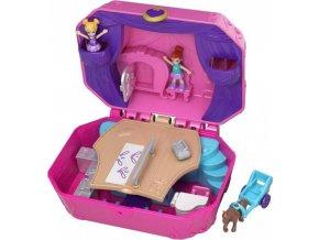 Polly Pocket Hudební skříňka s balerínou