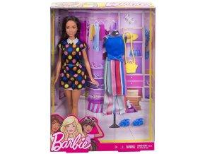 Barbie modelka s oblecenim