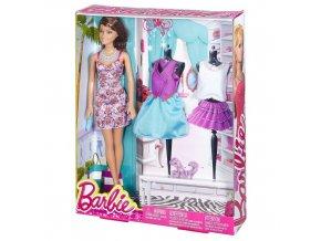 Barbie modelka s oblecky 1