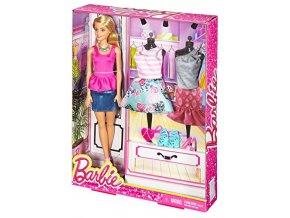 Barbie modelka s oblecky 3