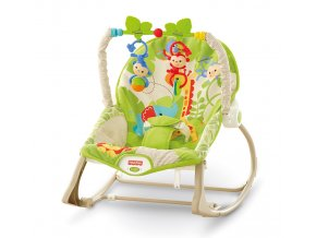 Fisher-Price BG SEDÁTKO OD MIMINKA PO BATOLE RAINFOREST