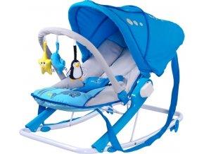 Dětské lehátko CARETERO Aqua blue