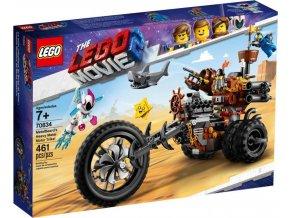 LEGO Movie 70834 Kovovousova heavy metalová motorová tříkolka!