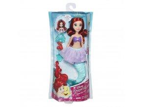 Disney princezna Ariel s bublifukem