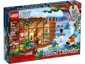 LEGO CITY 60235 Adventní kalendář 2019