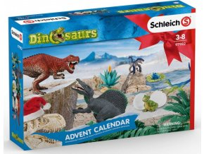 Schleich 97982 Adventní kalendář 2019 Dinosauři
