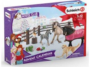 Schleich 97875 Adventní kalendář 2019 Koně