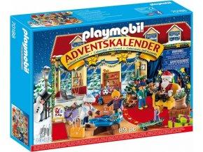 PLAYMOBIL 70188 Adventní kalendář Vánoce v hračkářství