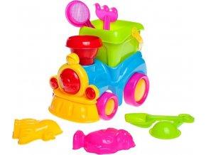 Hračky na písek Bayo mašinka 8 ks