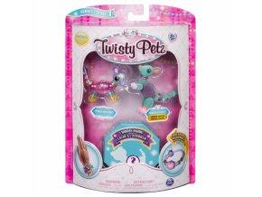 Twisty petz Pixie mouse Radiant roo zviratka naramky 2