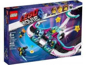 LEGO Movie 70849 Zdivočelá Mela a její stíhačka