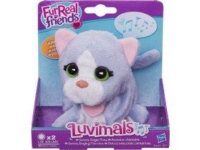 Luvimals Interaktivní plyšová kočička