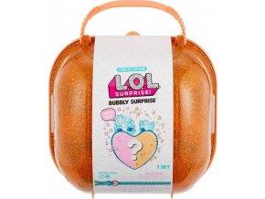 MGA L.O.L. Surprise Bublající překvapení oranžový box