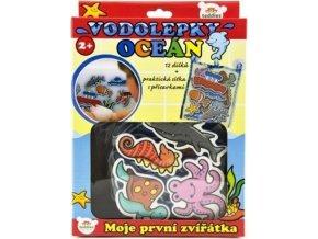Vodolepky oceán Moje první zvířátka, 12ks