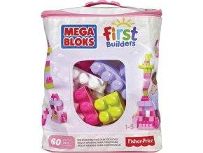 Mega Bloks First Builders Bag pro holky 60 ks
