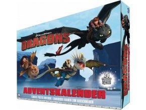Adventní kalendář DRAGONS 24 exklusivních figurek