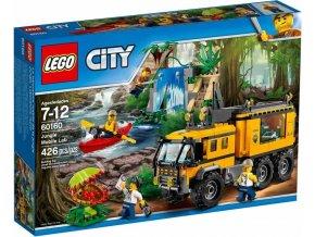 LEGO City 60160 Mobilní laboratoř do džungle - poškozený obal
