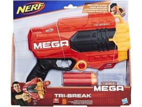 NERF Elite MEGA Tri Break Pistole