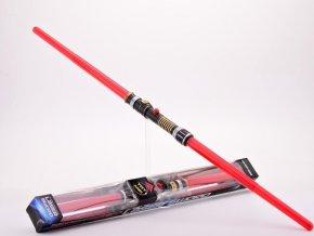 Světelný meč oboustranný červený 108 cm