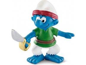 Figurka Šmoula pirát