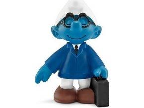 Figurka Šmoula prodejce