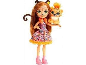 ENCHANTIMALS Panenka se zvířátkem Cherish Cheetah a Quick-Quick