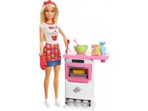 Barbie Vaření a pečení s panenkou Barbie