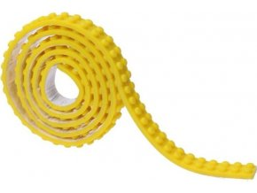 Lepící páska kostičky žlutá