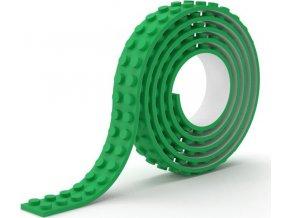 Lepící páska kostičky zelená