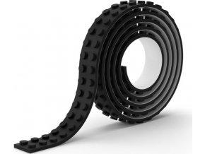 Lepící páska kostičky černá