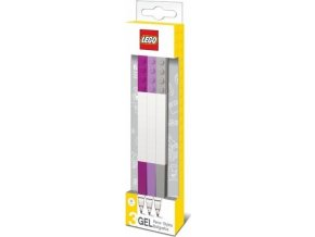 LEGO Gelová pera, mix DIF barev - 3 ks