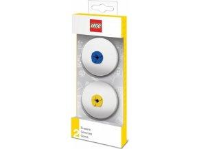 LEGO Guma, modrá a žlutá - 2 ks