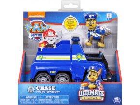 Tlapková patrola Chase a policejní vozidlo 06852