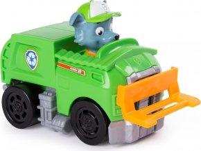 Tlapková patrola Rocky a malé vozidlo
