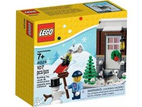 LEGO 40124 Zimní zábava, vánoční set