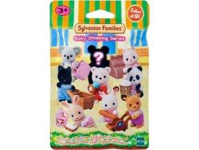 Sylvanian Families 5381 Figurka Zvířátka na nákupu
