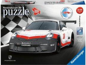 Ravensburger 11147 3D Puzzle Porsche GT3 Cup 108d.
