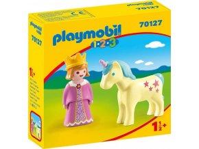 PLAYMOBIL 70127 Princezna s jednorožcem (1.2.3)
