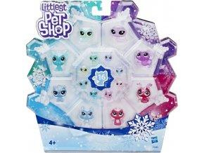 LPS Zvířátka z ledového království 16 ks