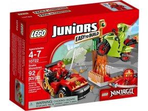 LEGO Juniors 10722 Finální hadí souboj - poškozený obal