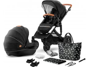Kinderkraft kočárek kombinovaný Prime 2v1 2020 černý