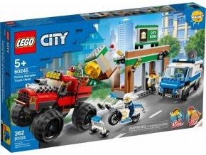 LEGO City 60245 Loupež s monster truckem