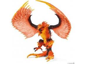 Schleich 42511 Ohnivý orel s pohyblivými křídly