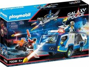 PLAYMOBIL® 70018 Vesmírná policie - Náklaďák