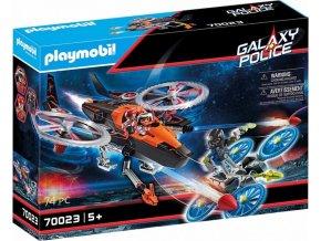 PLAYMOBIL® 70023 Vesmírní piráti - Helikoptéra