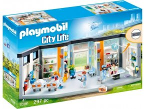 PLAYMOBIL® 70191 Nemocnice s vybavením