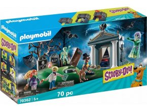 PLAYMOBIL® 70362 SCOOBY-DOO! Dobrodružství na hřbitově
