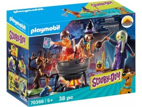 PLAYMOBIL® 70366 SCOOBY-DOO! Dobrodružství v čarodějnickém kotli