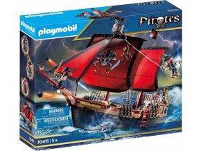 PLAYMOBIL® 70411 Pirátská loď Lebka